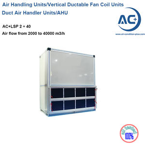 Vertical Air Handling Units Ductable Fan Coil Units