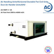 Horizontal Air Handling Units  Ductable Fan Coil Units
