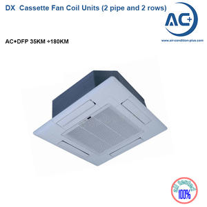 DX  Cassette Fan Coil Unit (2 Pipe And 2 Rows) DX Fan Coil Units