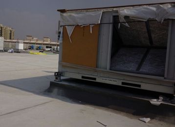 Dubai Rooftop Air Condition Project