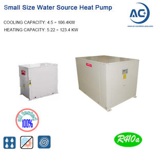 Small Water To Water Heat Pump R410A
