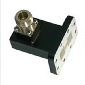 Double Ridged Waveguide to Coaxial Adapter
