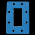 waveguide rubber seal