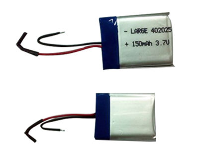 PL402025 3.7V 150mAh Small Lithium Polymer Battery