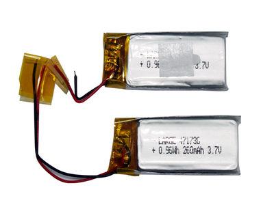 PL471736 3.7V 260mAh Lithium Polymer Battery