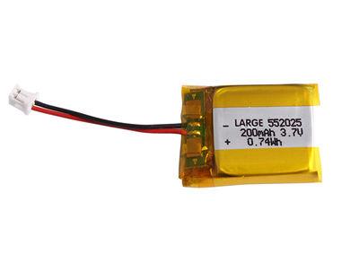 PL552025 Lithium Polymer Battery 3.7V 200mAh