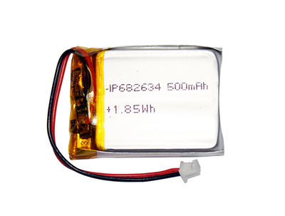 PL682634 3.7V 500mAh Lithium Polymer Battery Pack