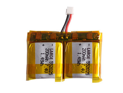 PL552025 7.4V 450mAh Polymer Lithium Battery