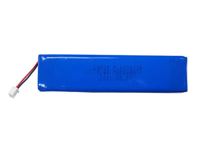 7.4V 7200mAh (2S2P) High Capacity Polymer Lithium Battery Pack