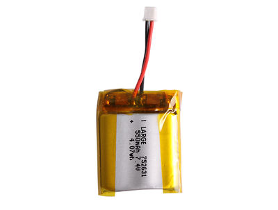PL752631 7.4V 520mAh 2S Small Lithium Polymer Battery Pack