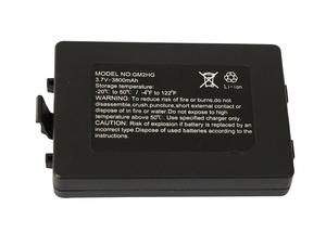 SANYO 103450 3.7V 3800mAh Rechargeable Li Ion Battery Pack