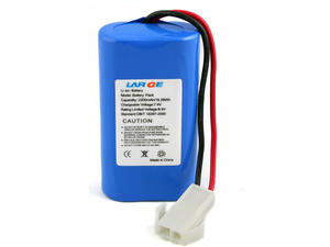 7.4V 2200mAh Lithium ion Battery for Handheld Device