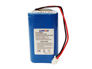 11.1V 2600mAh Lithium Ion Battery Pack For Medical Device