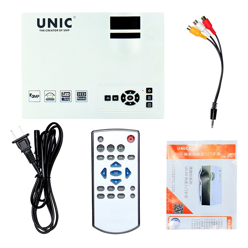 projector uc40 package