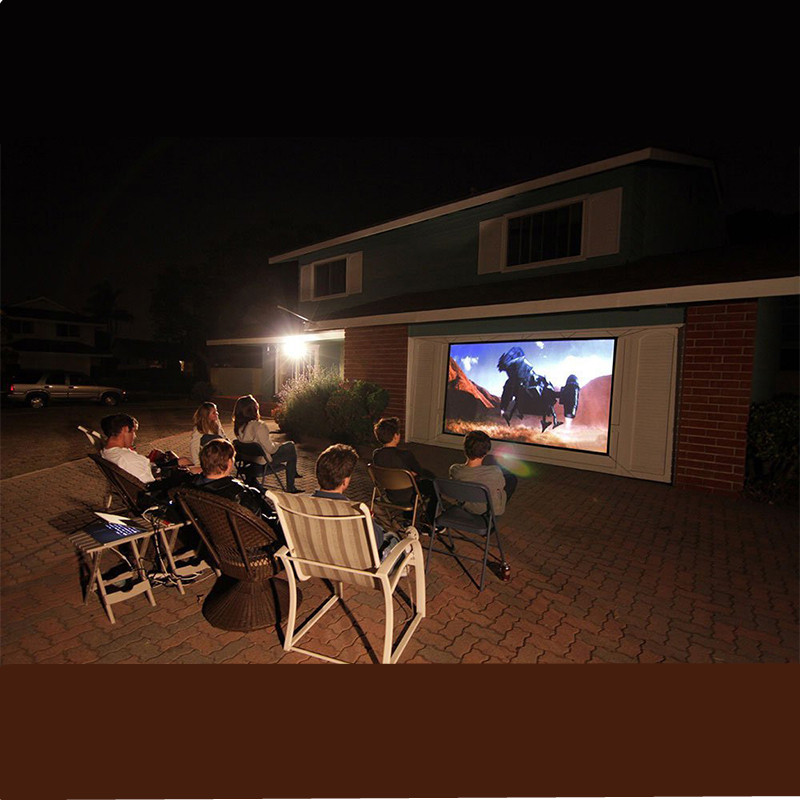 outdoor projectors for movies