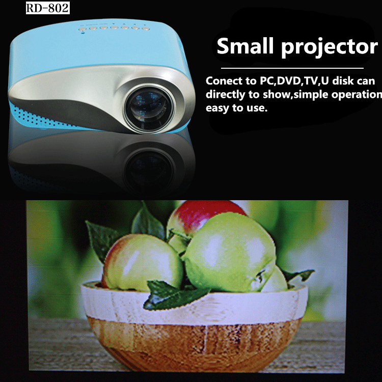 small projector tv