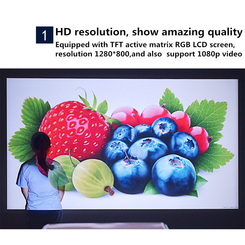 tft lcd projector