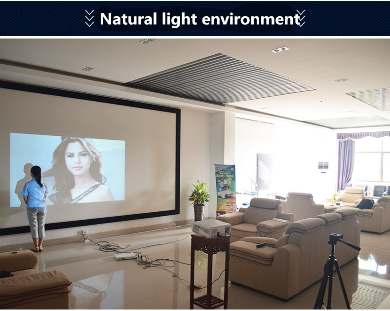 nature light projector effect