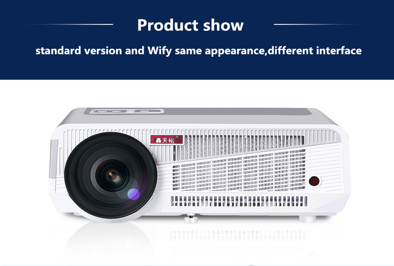 LED86 projector