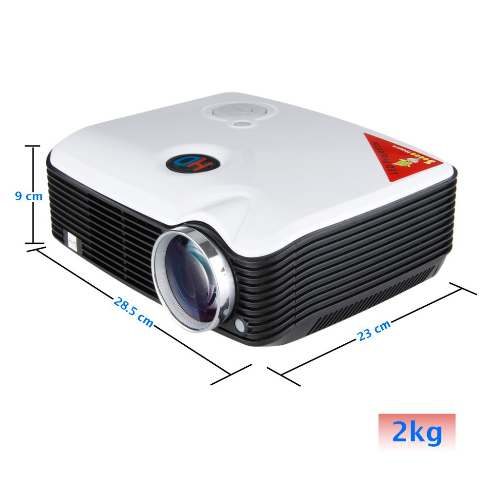 PH5 projector size