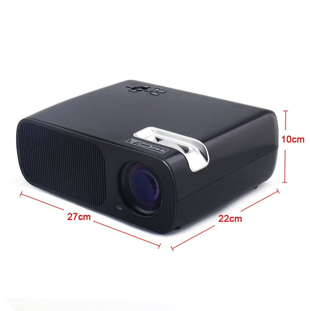 bl20 projector size