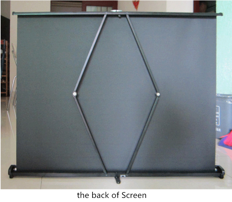 back of screen