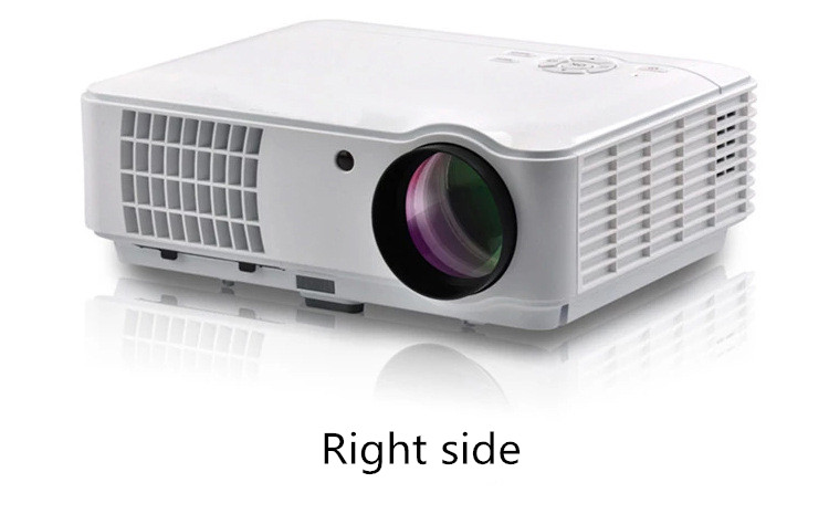 RD804 projector right side