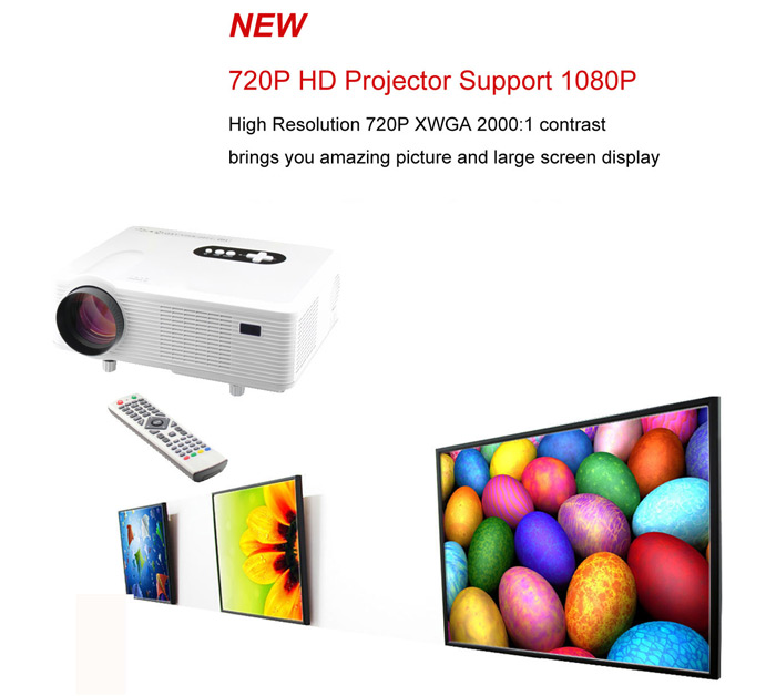 720p hd projector