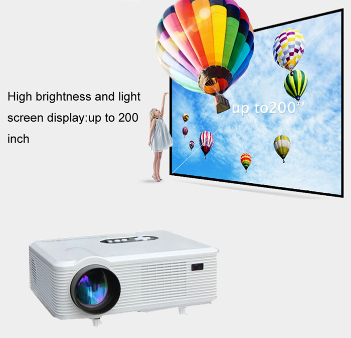 light screen display projector