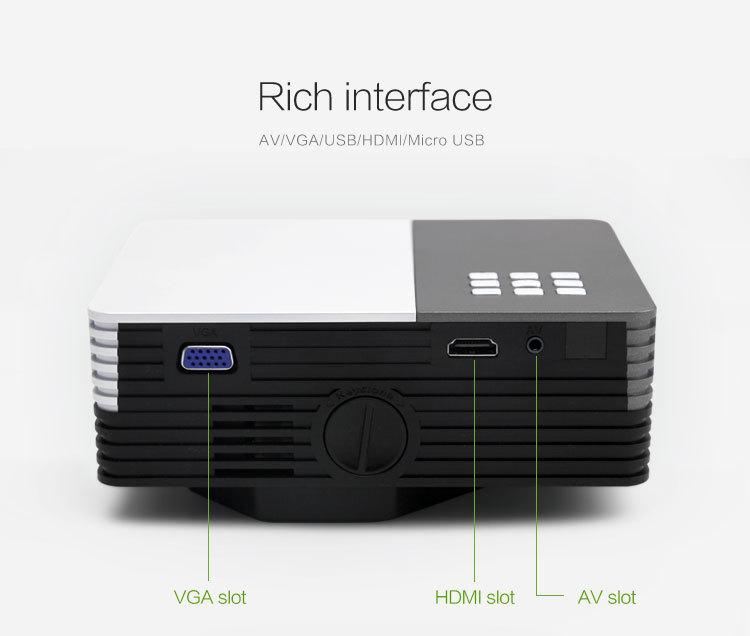 micro projectors usb