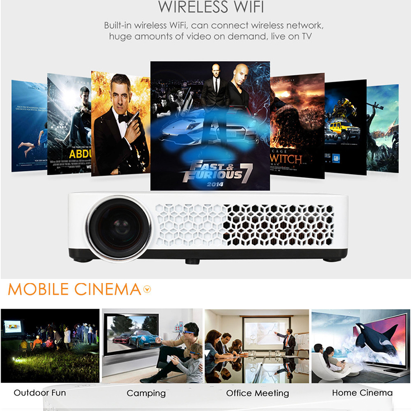 wireless projectors wi-fi