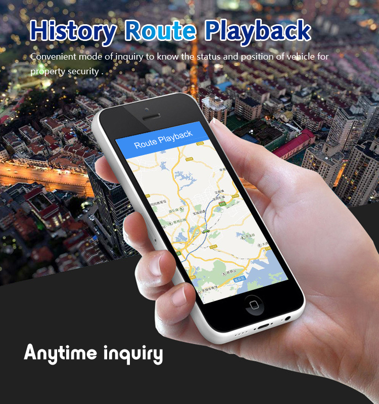 history route playback