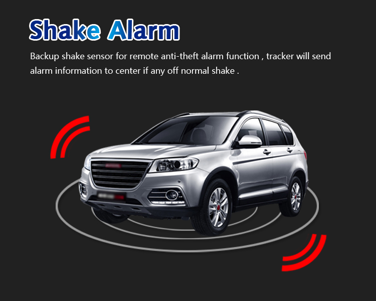 can shake alarm gps tracker