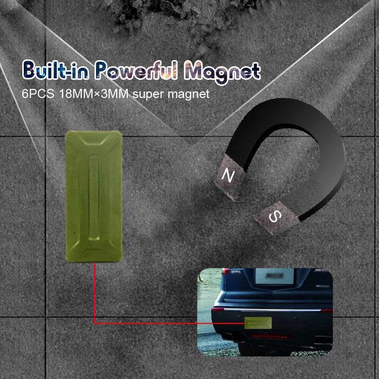 Build-in Powerful Magnet