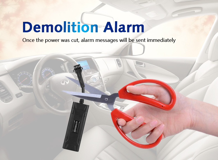 demolition alarm tracker