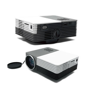 High quality Full HD 1080p video Power bank 80lumens outdoor projector Supplier