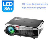 led86 Full HD Projector 3000 lumens LED Android4.4 Wifi Smart Multimedia video 3D Proyector Supplier