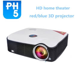 PH5 2500lms LCD LED Smart Projector Multimedia 1080P Full HD utilizado proyectores de cine HDMI Input