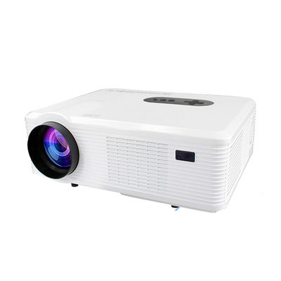 HD Home Cinema Theater Multimedia Projector TV/VGA/AV White Exporter