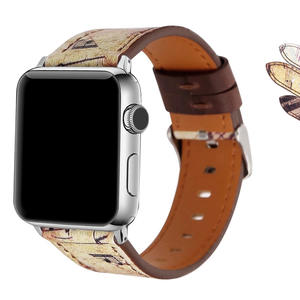 New Style Band For Apple Watch Series 1 / 2 / 3, WAfeel Old Memories Leather Bracelet Adjustable Replacement Strap Band For iWatch 1 2 3