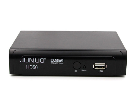 JUNUO best tuner hd dvb t2 receiver singapore set top box