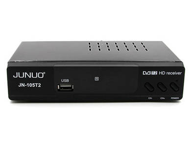 JUNUO dvb t2 decodificador mpeg4 hdmi digital set top box