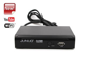 best Junuo Factory High Quality Dvb T2 Digital Receiver  with Youtube