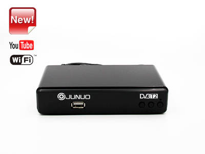 wholesale  Junuo Factory Dvb-t2 Box insert Youtube app