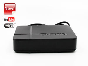 Junuo free to air set top box supplier Tv Tunner Dvb T2 Tv Box With Youtube app
