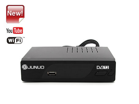OEM professional Junuo Factory Dvb T2 Set Top Box  With Youtube app?imageView2/1/w/400/h/300/q/80