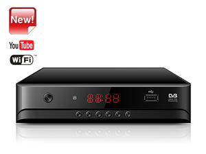 New Set Top Box Junuo Factory Dvb T2 Receiver With Youtube app