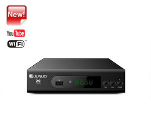 Wholesale Junuo Hd Tv Receiver Supplier Digital Converter Tv Box With Youtube app