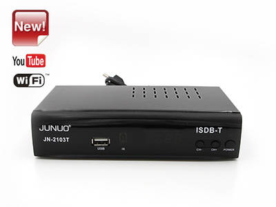 Wholesale Junuo Isdb T Manufacturer Isdb-t Digital Receiver Support Youtube App
