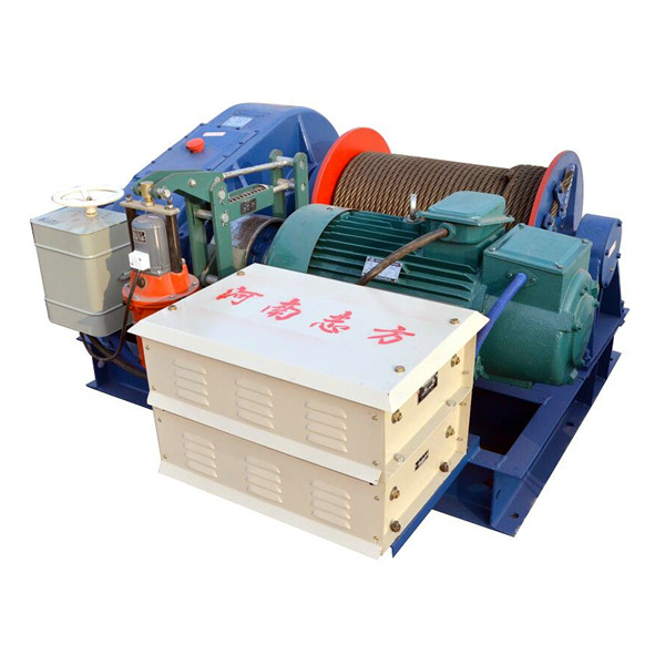 High Quality 10ton Wire Rope Pulling Winch